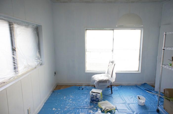 オフィスペンキ塗り