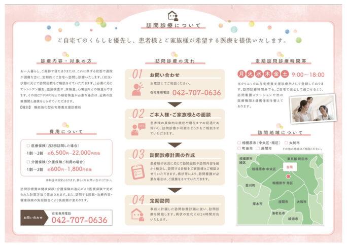 豊田内科クリニック パンフレット